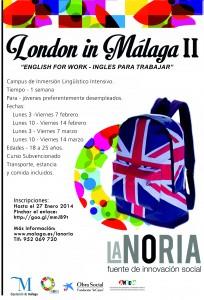 Cartel London in Málaga II